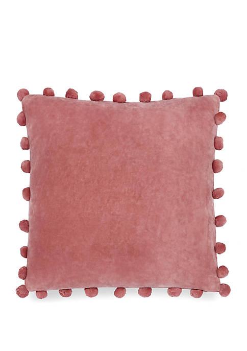 Paddock Shawl Pom Pom Pillow