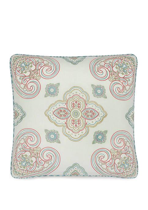 Paddock Shawl Embroidery Pillow