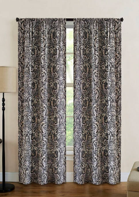 Ellery Homestyles Dolce Paisley Light Filtering Window Curtain