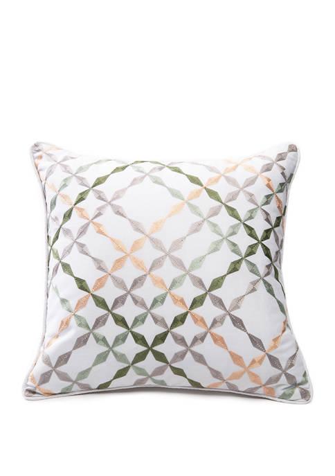 Blush Emmas Garden Pillow