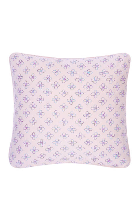 16 in x 16 in Byzance Bloom Decorative Pillow