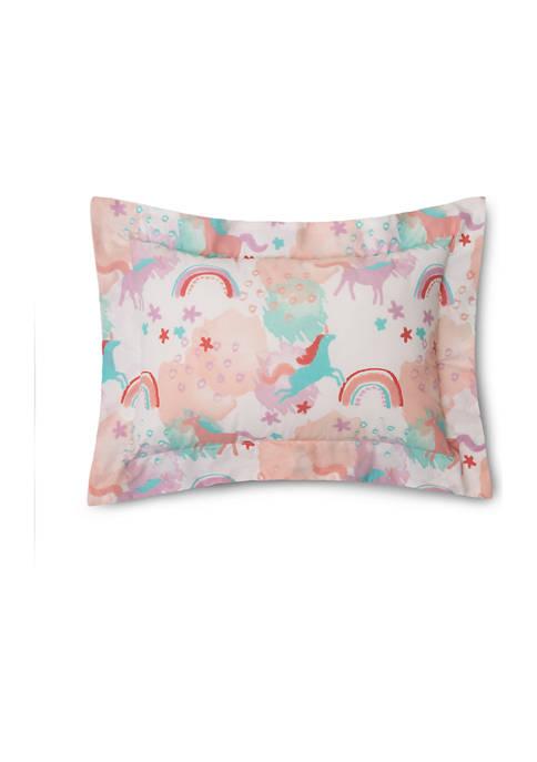 Lullaby Bedding 9 in x 16 in Unicorn