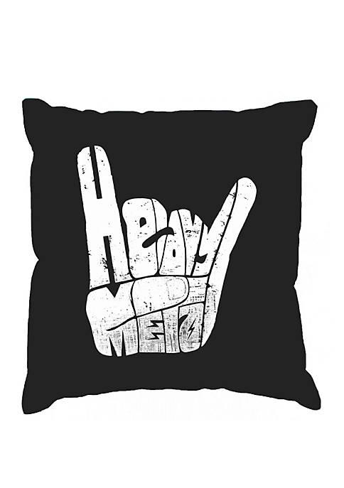 LA Pop Art Throw Pillow Cover