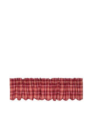 Rustic Kitchen Curtains Harvey Cabin Valance