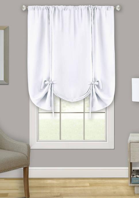 Darcy Window Curtain Tie Up Shade - 58x63