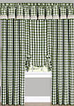 Buffalo Check Window Curtain Panel