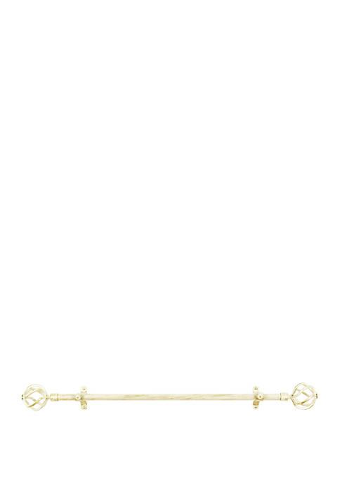 Achim Metallo Decorative Rod & Finial Avalon