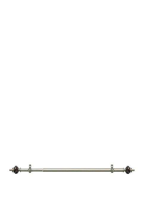 Achim Camino Decorative Rod & Finial Aspen