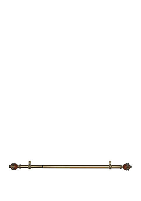 Achim Camino Decorative Rod & Finial Ava