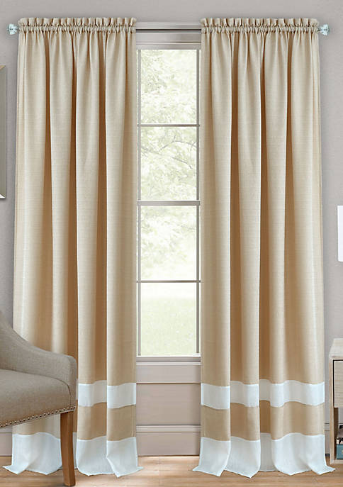 Achim Darcy Rod Pocket Window Curtain Panel