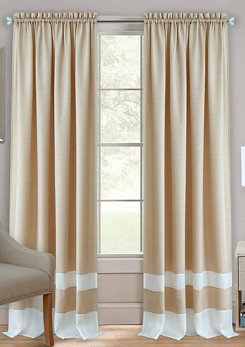 Darcy Rod Pocket Window Curtain Panel