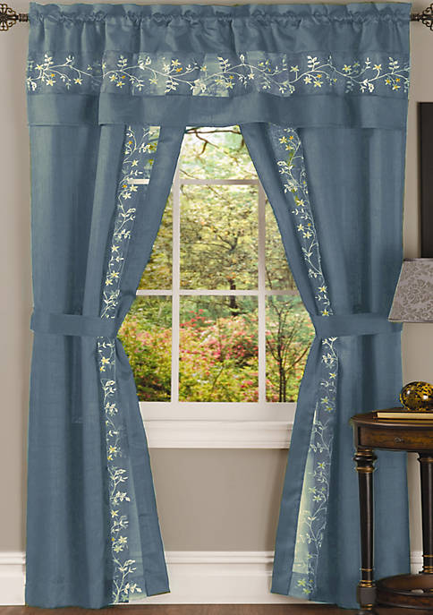 Fairfield 5 Piece Window Curtain Set