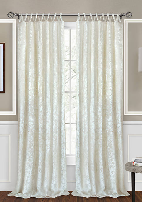 Achim Harper Criss Cross Window Curtain Panel