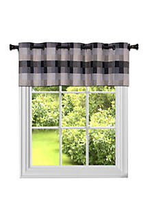 Achim Harvard Valance with 10 Small Grommets