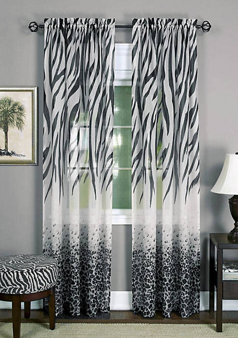 Achim Kenya Window Curtain Panel