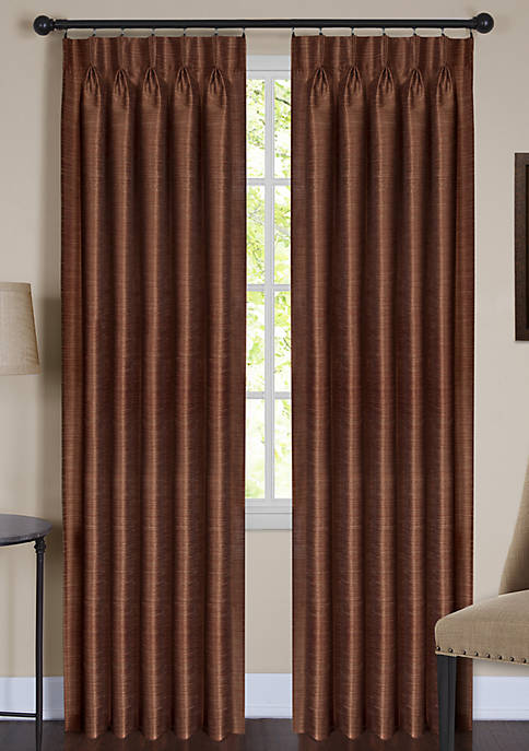 Achim Parker Pinch Pleat Window Curtain Panel