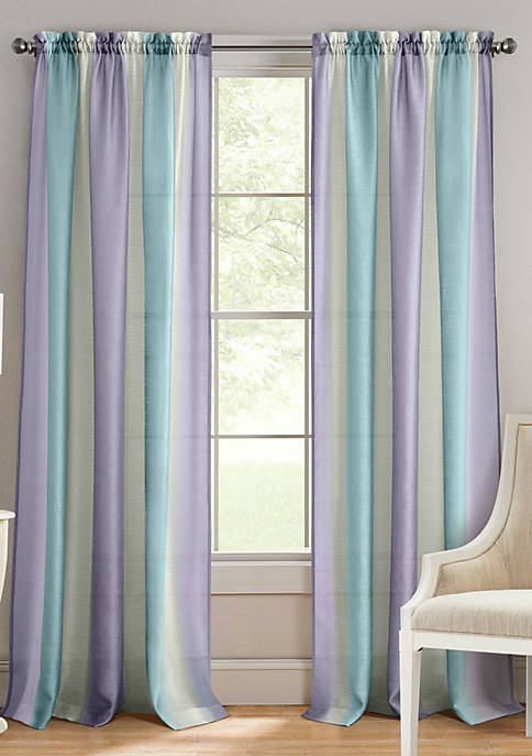 Achim Spectrum Rod Pocket Window Curtain Panel
