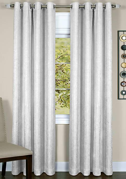 Achim Taylor Lined Grommet Window Curtain Panel