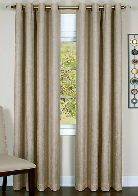 Taylor Lined Grommet Window Curtain Panel