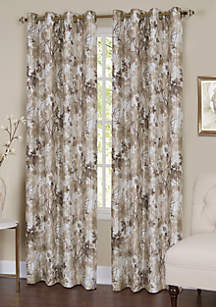 Achim Tranquil Lined Grommet Window Curtain Panel