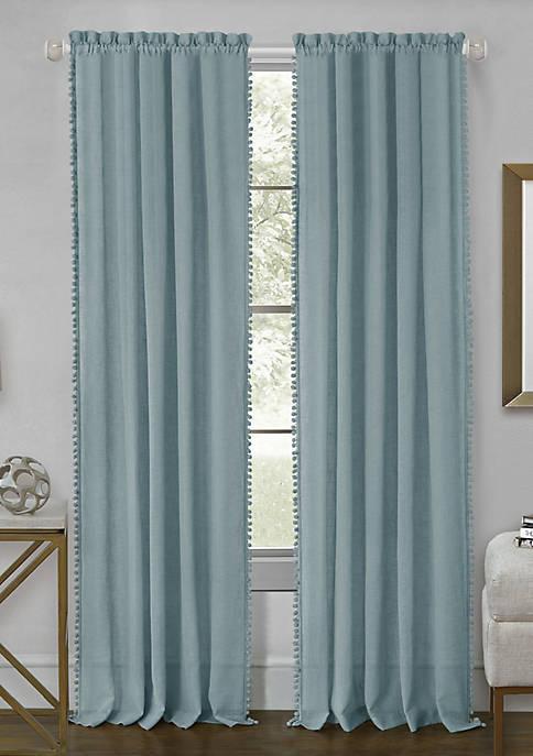 Wallace Rod Pocket Window Curtain Panel