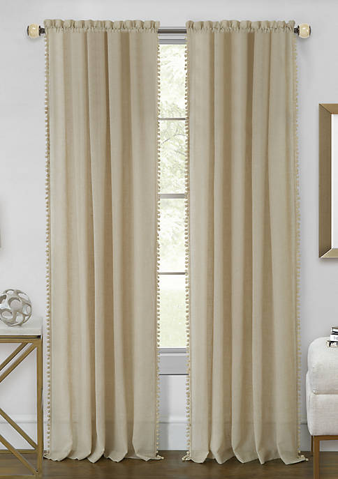 Achim Wallace Rod Pocket Window Curtain Panel