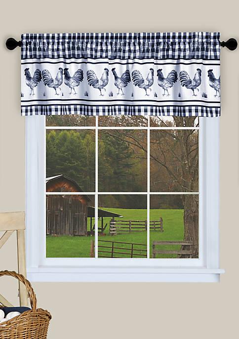 Achim Barnyard Window Curtain Valance