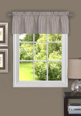 Achim Sydney Window Curtain Valance Linen Z9sTG