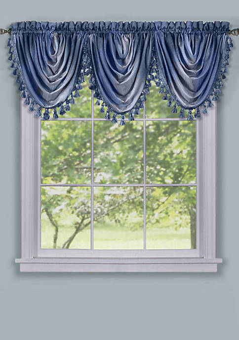Achim Ombre Waterfall Valance