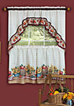 Farmers Market - Printed Tier and Swag Window Curtain Set
