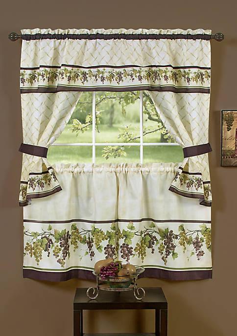 Achim Tuscany Cottage Window Curtain Set