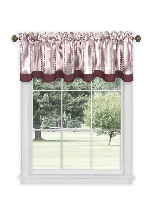Achim Westport Window Curtain Valance