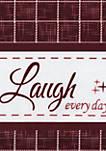 Live, Love, Laugh Window Curtain Valance