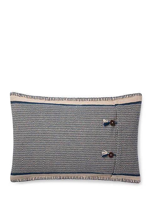 Loloi Rugs Button Throw Pillow