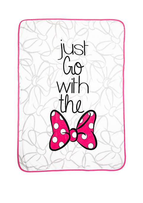 Disney® Minnie Mouse Plush Throw