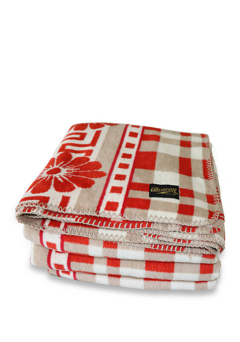 Beacon Linens Nomad Plaid Blanket