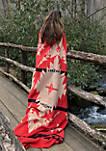 Inca Red Blanket