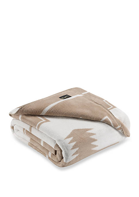 Beacon Linens Shilah Camel Blanket Collection