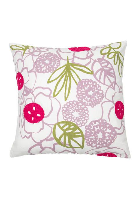 Foreside Home & Garden Layla Pillow