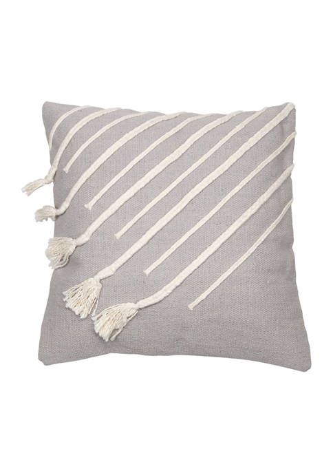 Foreside Home & Garden Hannah Pillow