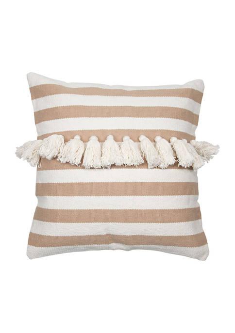 Foreside Home & Garden Stripe Pillow