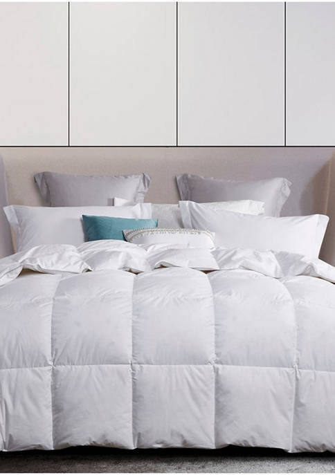 White Goose Down and Feather Comforter
