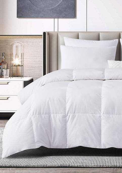 Tencel®/Cotton Blend 90/10 Feather/Down Fiber Comforter - All Seasons