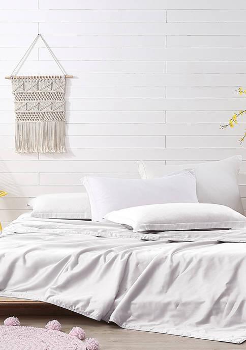 300 Thread Count Silk Comforter - Light Warmth