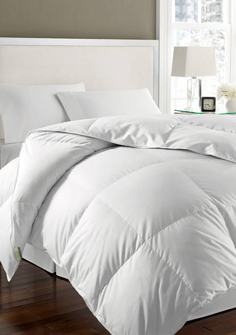 Kathy Ireland 240 Thread Count White Goose Feather