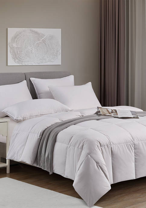 Kathy Ireland Light Warmth White Down Fiber Comforter