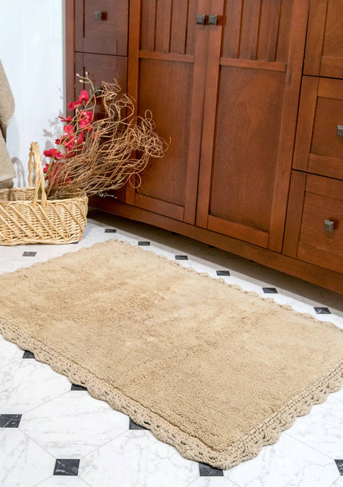 Set of 2 Crochet Rugs