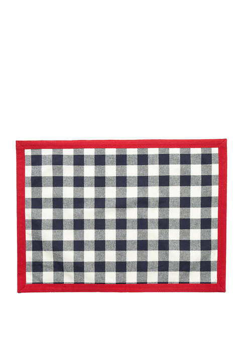 Modern. Southern. Home.™ Americana Plaid Placemat