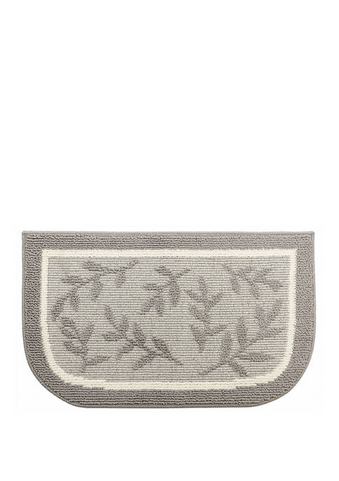 Excell Home Fashions Leaves Low Tufted Doormat