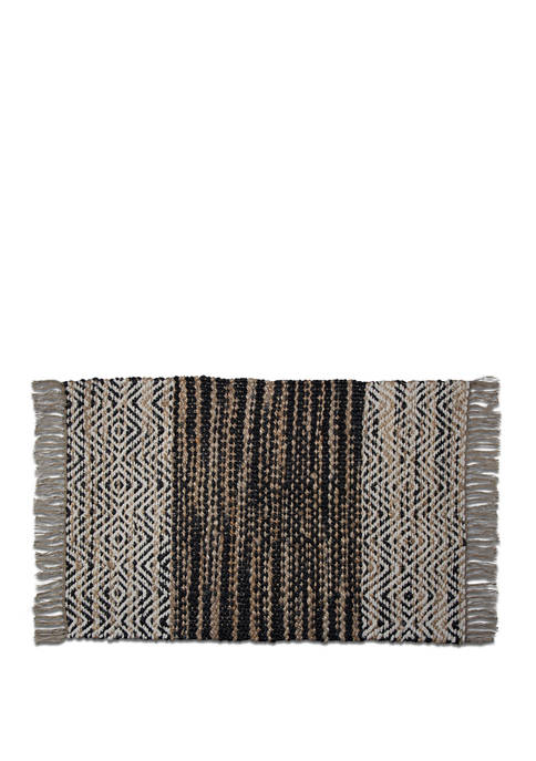 tag Noida Rug with Fringe